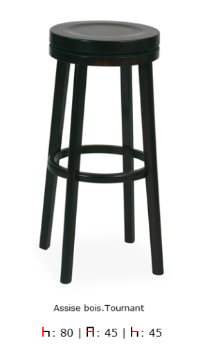 Tabouret de bar Amber AT