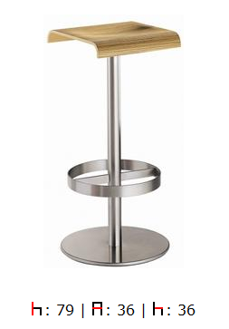 Tabouret de bar Lamon