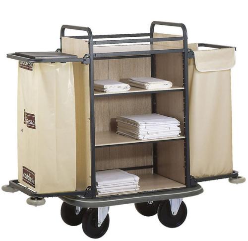 chariot linge femme de chambre new york. Black Bedroom Furniture Sets. Home Design Ideas